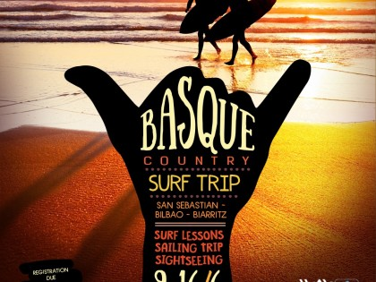 Basque country surf trip
