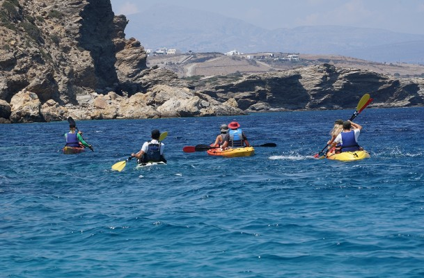 Sea Kayak Daytrips @ Small Cyclades